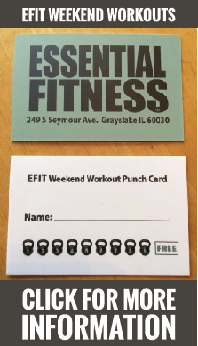 Essential Fitness Punchcard